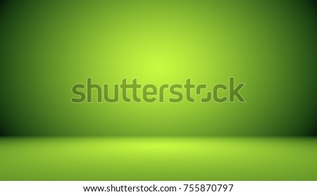 Empty Green Studio well use as background,website template,frame,business report.