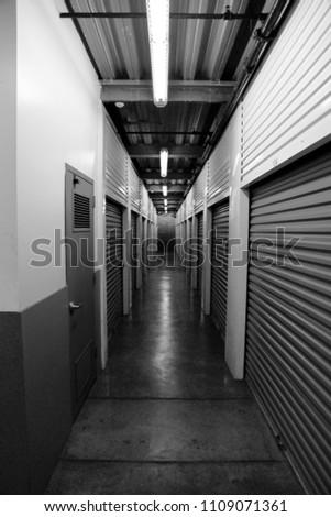 empty hallway. hallway #1109071361