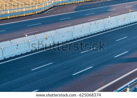 empty highway  #625068374