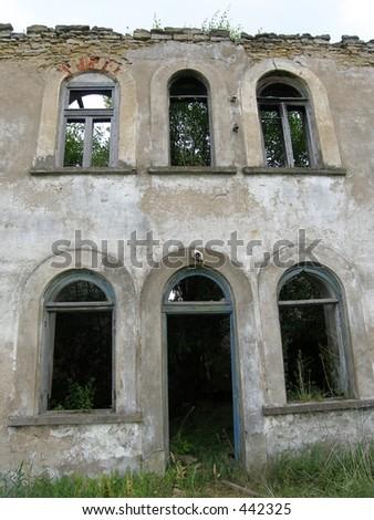 Empty house - stock photo