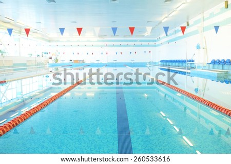 Indoor Public Swimming Pool popular free swimming pool with empty lane. photos - page: 2/30
