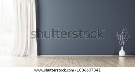 empty interior background  room ...