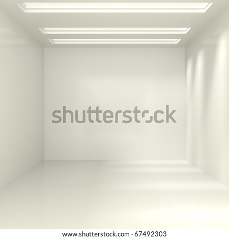 Empty Interior - 3d illustration