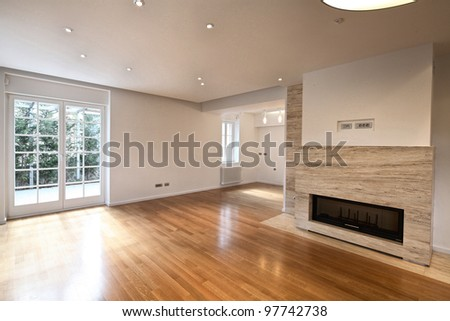 Empty Interior of Apartment