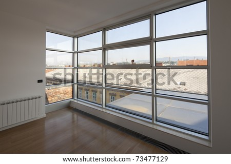 Empty Interior of Apartment house in Zagreb