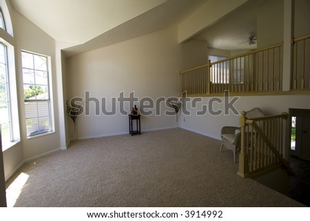 Empty Living Room in a New House