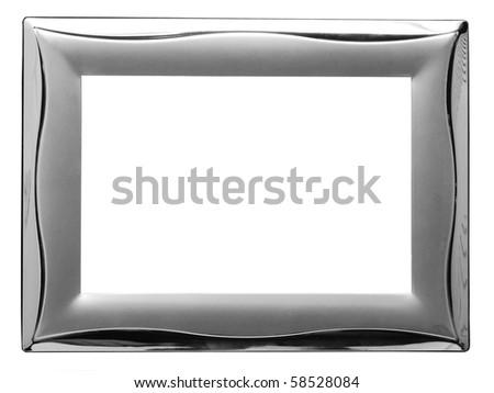 empty metal frame