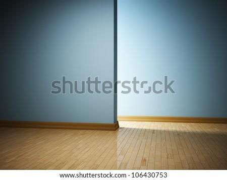Empty modern interior room