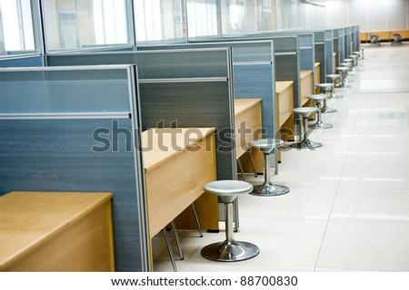 empty of modern office interior.