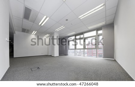 Empty office ready for rent