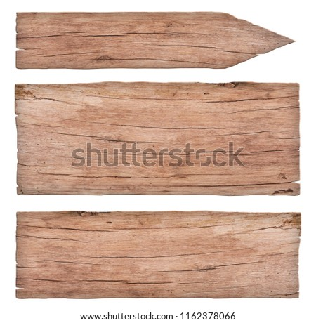 empty old nature wooden signs #1162378066