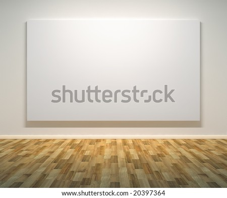 Empty paintings frame on the wall  clipping path on frame  - stock    Empty Picture Frame On Wall