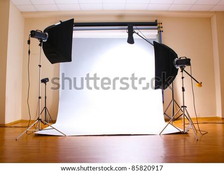Снять студию для фотосъемки