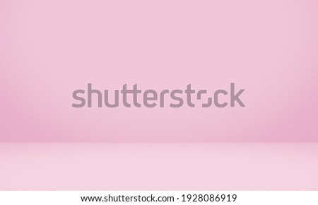 Empty pink color texture pattern cement wall studio background. Used for presentation cosmetic nature products for sale online. ストックフォト ©