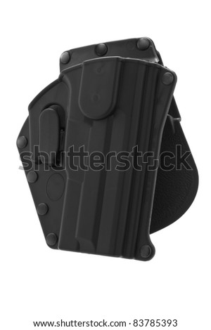 Empty polymer Holster for 9mm