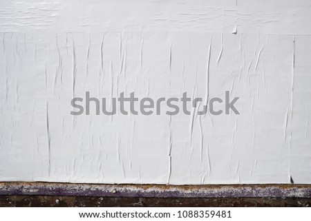 empty poster texture  #1088359481