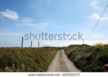 Empty road #660582673