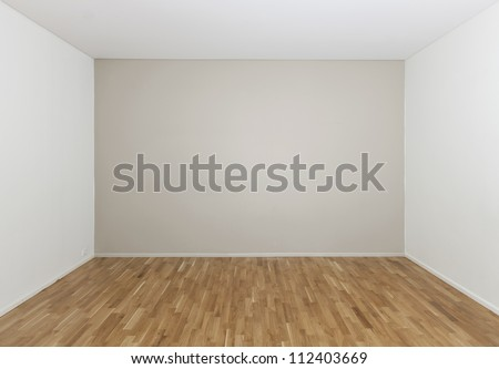 Empty room in a modern house #112403669