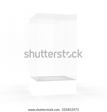 empty showcase