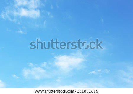 Empty sky surface #131851616