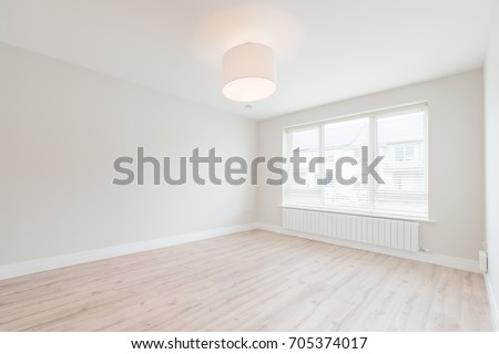 Empty small bedroom