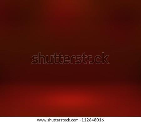 Empty Spotlight Red Room Background