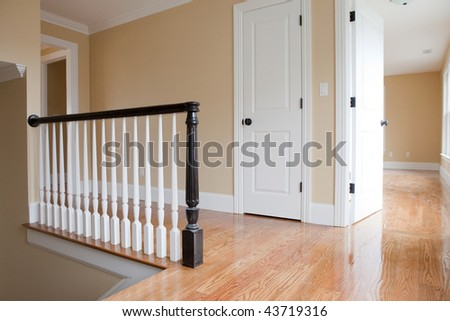 Empty Staircase Landing with Detail