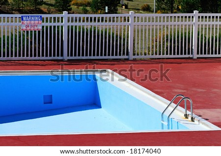 Empty Swimming Pool