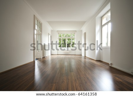 empty traditional home