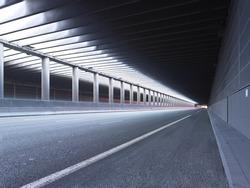 Empty Tunnel Paris