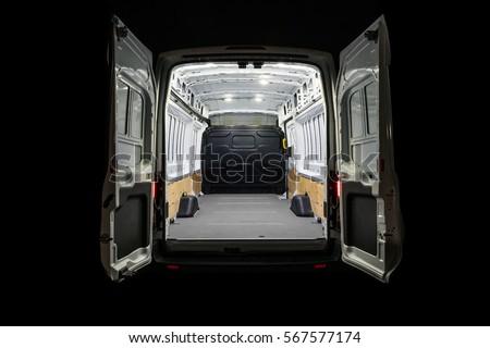 Empty van