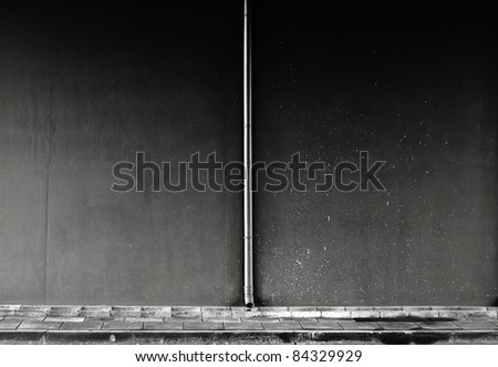 Empty wall, can be used as background