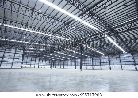 Empty warehouses