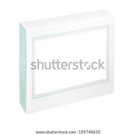 empty white gift box #109740650