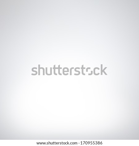 Empty white studio background - Shutterstock ID 170955386