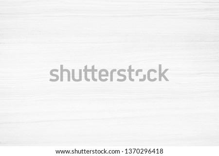 Empty white wood wall surface texture for background or decoration design