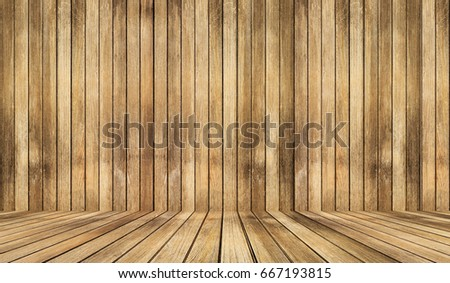 Shutterstock empty wooden interior room.and wood texture background