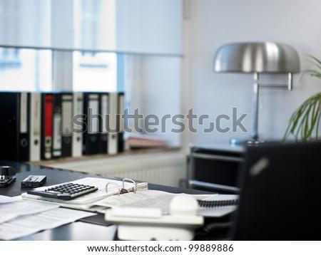 empty workroom. Horizontal shot
