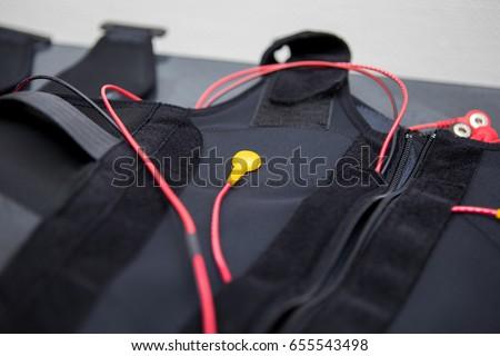 EMS training vest Stock foto ©