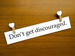 Encouragement Concept, The sentence