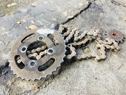 End of life sprocket chain