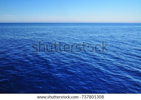 Endless ocean sea water  #737801308