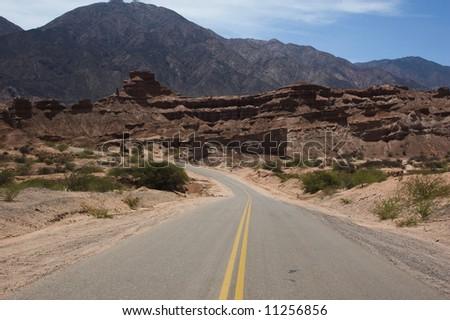 Endless road,Argentina