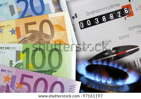 energy and gas cost money