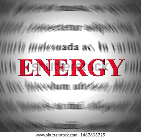 Energy concept icon depicts buzz and excitement for promotion. Publicity and exposure to promote website - 3d illustration