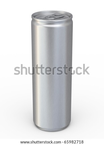 energy drinks cans (clipping path)