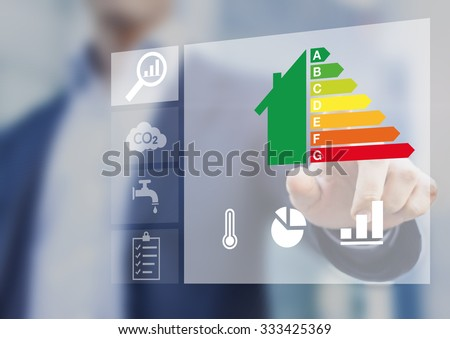 Energy efficiency rating of buildings for sustainable development #333425369