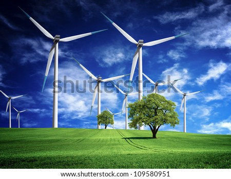 Energy Inventions - stock photo