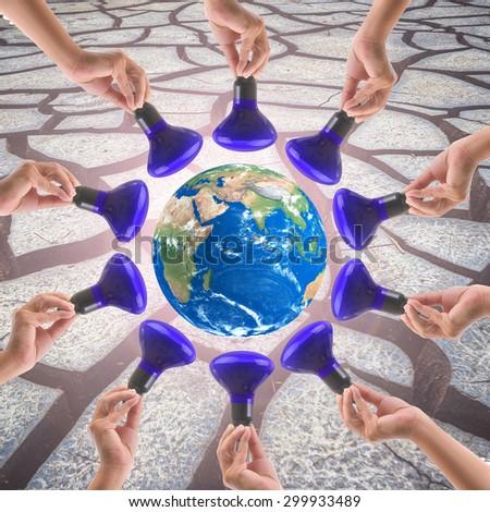Energy saving reduce global warming.