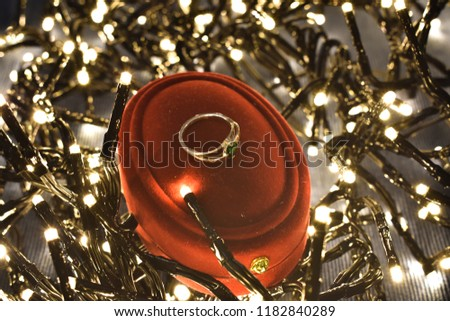 Engagement ring christmas #1182840289